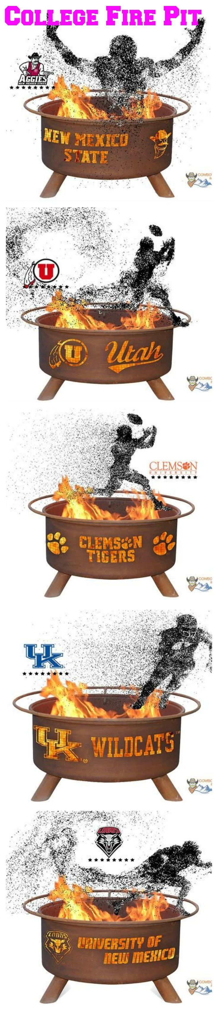 College Fire Pit Tailgate Show Your Pride and Entertain your Friends with the Wake Forest University Fire Pit! – College Fire Pit