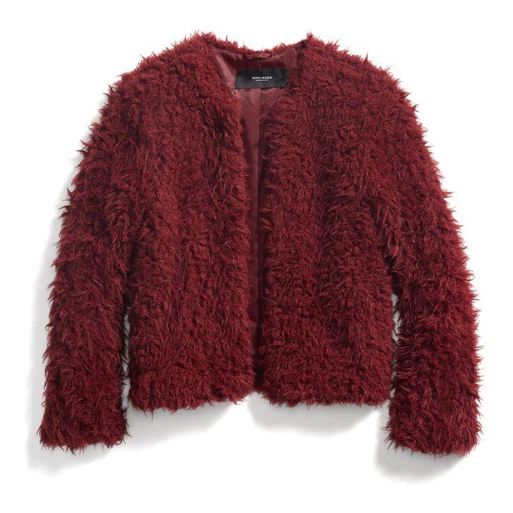 Stitch Fix Fall Stylist Picks: Cropped Faux Fur Jacket