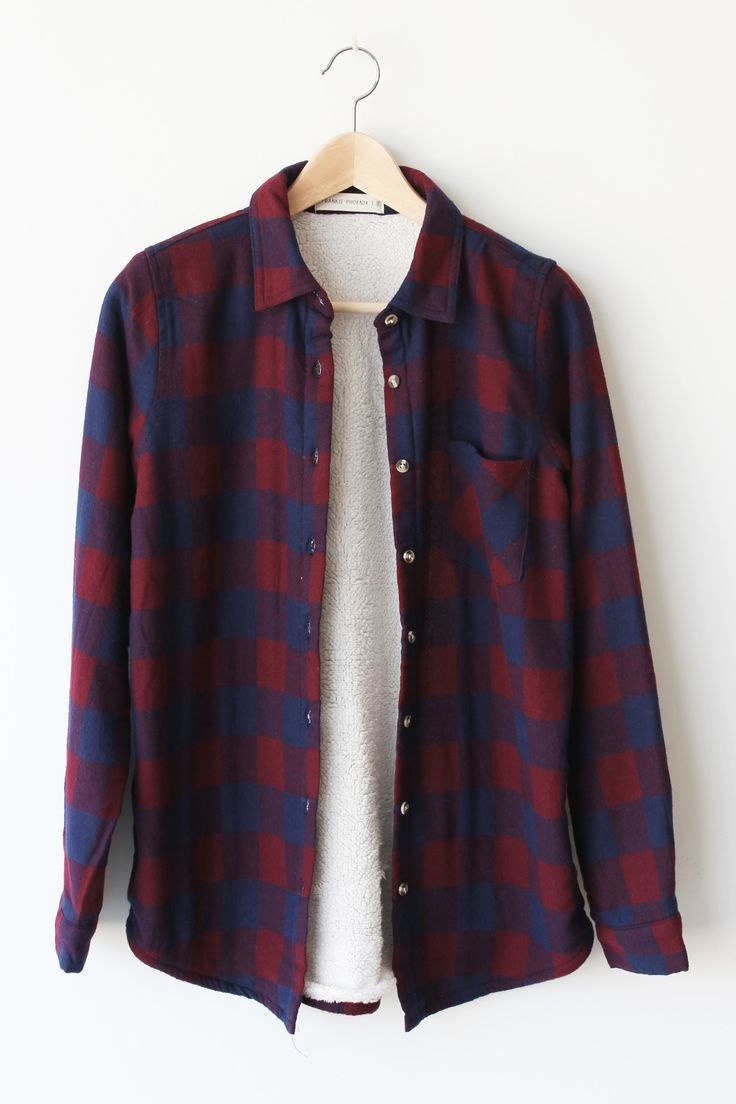 """- Details - Size - Shipping - • Shell 100% Cotton - Lining 100% Polyester • Pocket Flannel jacket. • Hand Wash • Line dry • Imported • Measured from small • Length 29"""" • Chest 20"""" • Waist 19"""" - Free d"""