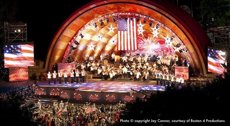 Boston Pops @ Hatch Shell - July 4th...every year SUPERB!