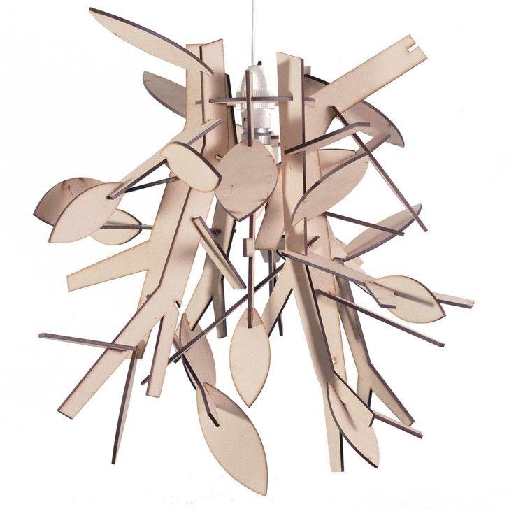 LIG | Twig and Leaf Hanging Lamp - Homeware - 5rooms.com