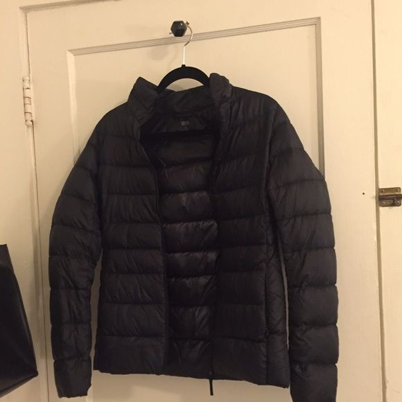 Uniqlo jacket great condition! very light, but keeps you super warm UNIQLO Jackets & Coats