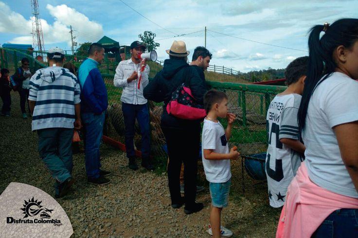 Gózate la #rutalechera con #disfrutacolombia y vive un espacio único con #diversionycalidad en #sanpedrodelosmilagros