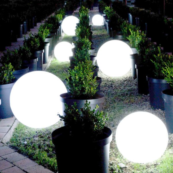 Orb Balls - Mobelli Illuminated Outdoor Furniture. With its interchangeable and remote controlled LED light inside, you can take it anywhere you want. No electrical cables, no mess, no fuss.