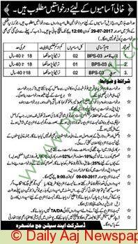 District & Session Court Mansehra Jobs