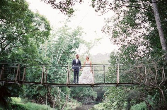 Queensland wedding location | Get hitched in a tree house of love at Boomerang Farm, Mudgeeraba. #goldcoast