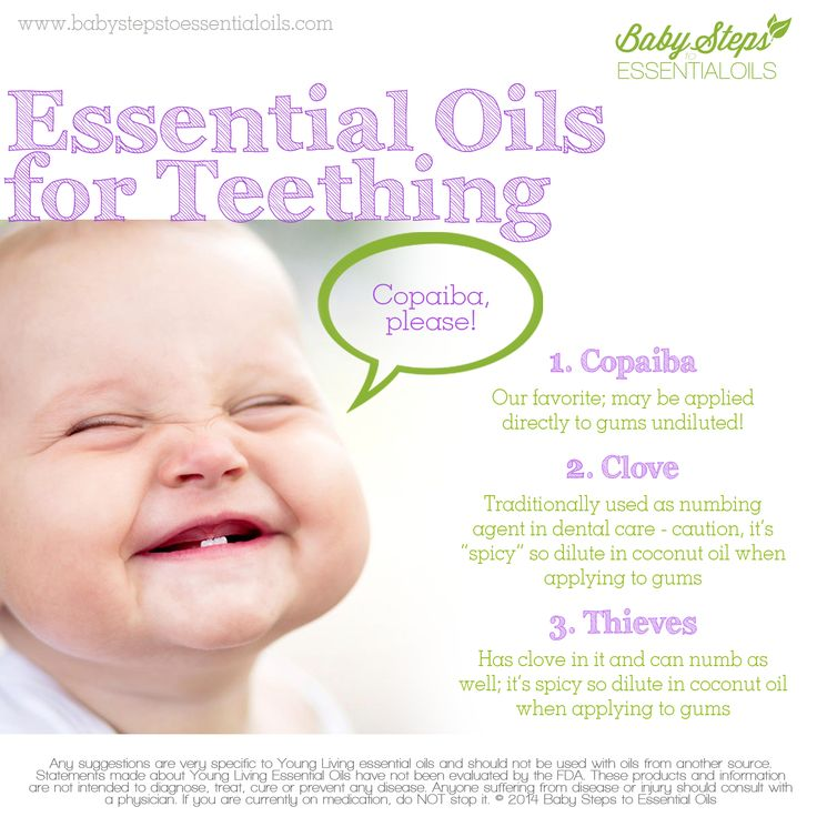 Copaiba is great for Teething. The kids will ask for it.
