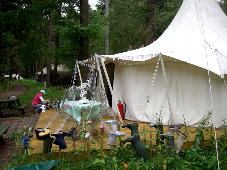 Gl&ing wellie dryer posts & 102 best Glamping Stuff For Tent images on Pinterest | Tent Tents ...
