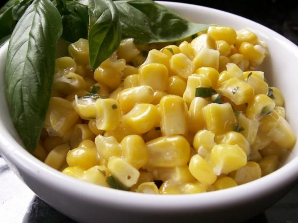 Basil Lime Butter for Corn on the Cob | Recipe
