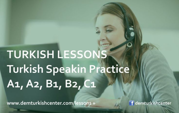 Improve your #TurkishLanguage with #Turkish speaking practice (A1, A2, B1, B2, C1) lessons online via Skype