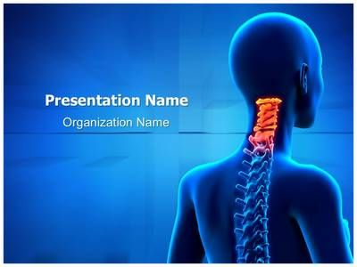 Cervical Spine Anatomy PowerPoint Presentation Template is one of the best Medical PowerPoint templates by EditableTemplates.com. #EditableTemplates #Pain #Backache #Radiology #Science #Posture #Anatomy #Female  #Person #Chiropractic Adjustment #People #Ill #Health #Diagnosis #Therapy #Ache #Patient #Backbbeauty And Health #Head #Cervical Vertebrae #Health Healthcare #Xray #Young #Injury #Lumbar #Medical #Hospital #Back #Medicine #Painful #Intervertebral #Arthritis #Nerve #Bcare #Adult