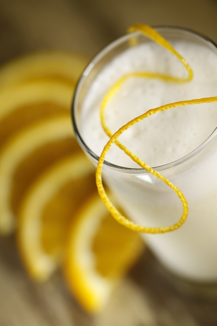 Soy, almond or coconut milk; simple syrup, lemon, orange flower water ...