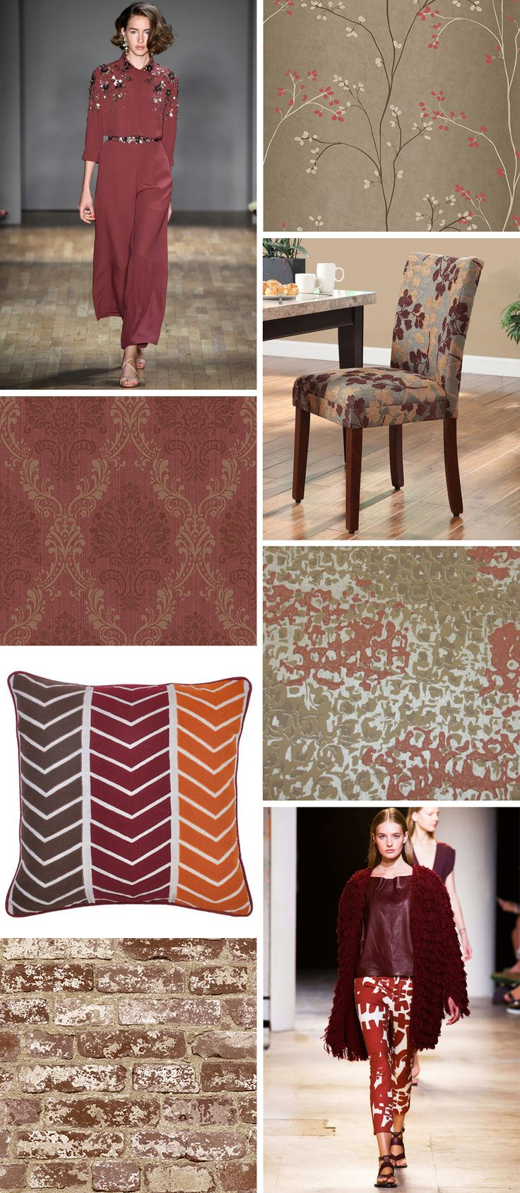 Pantone is one of the great color authorities, influencing markets at practically every level.  Pantone's Color of the Year for 2015 is Marsala.  Full bodied, intensely rich and multi-faceted, it ranges from amber to garnet and is described as hearty and unifying.