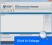 MS Outlook 2010 attachments extractor can extract attachments in Outlook emails in bulk. Quickly extract email attachments in Outlook 2010, 2007,  2003 PST files.