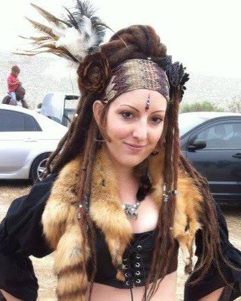 tribal dreads: Bohemian Women, Festi Style, Tribal Dreads, Native Tribal, Costumes Tribal, Tribal Fusion, Wandering Spirit, Tribal Style, Déesse Tribale
