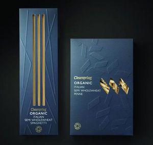 Mayday #pasta #food #packaging #blue #box #design