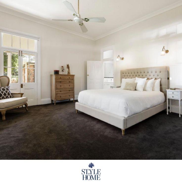 'Liam' Upholstered Linen Bed Frame
