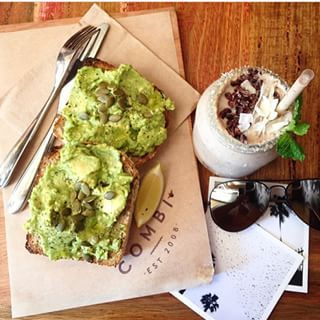 Combi, Elwood. Avocado, feta, lemon and pumpkin seeds | 19 Melbourne Cafes That Are Taking Avocado Toast To A Whole New Level