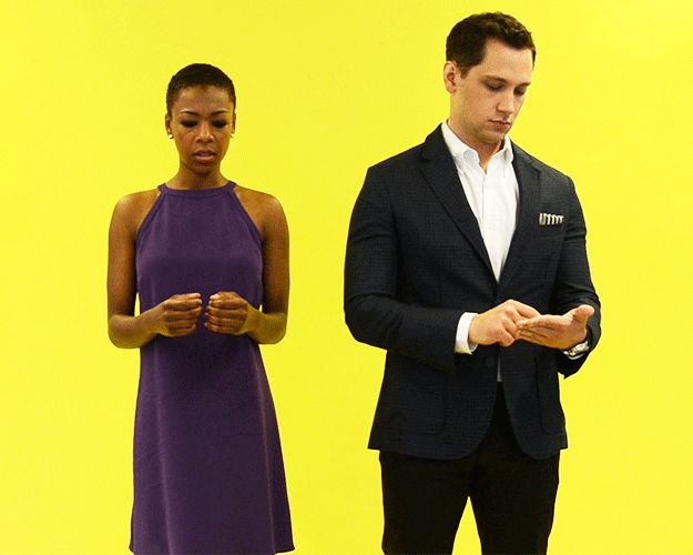 You accidentally like someone's photo on Instagram. | Samira Wiley And Matt McGorry React To 13 Real Struggles Of Life