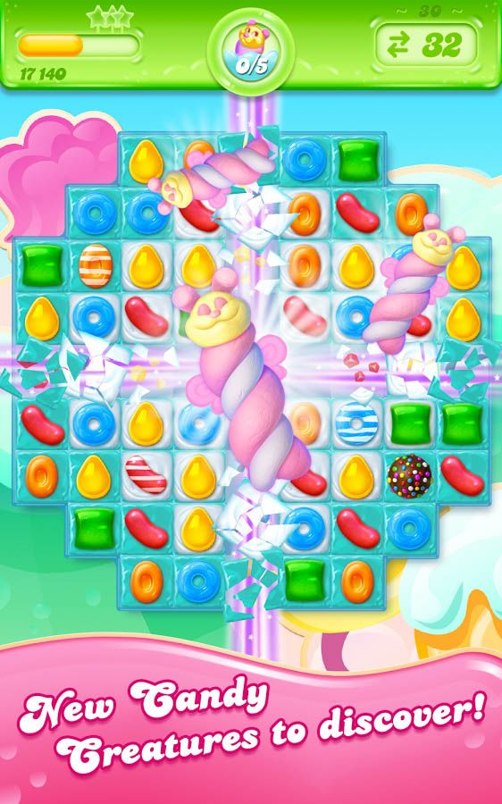 Ready to play Candy Crush Jelly Saga? Visit King.com and get stuck in. Switch, match, win!