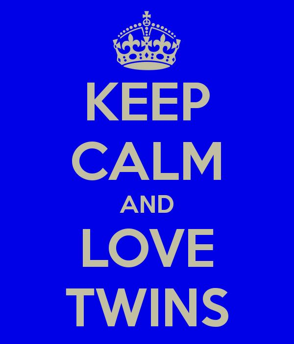 Keep Calm and Love Twins