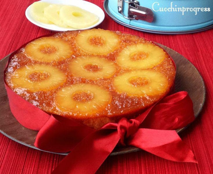 torta rovesciata ananas