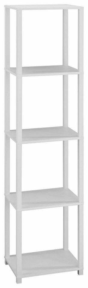 Regal »Detroit«, Höhe 153 cm für 69,99€. FSC®-zertifizierter Holzwerkstoff, Ideal für kleine Räume, In verschiedenen Farben, Viel Stauraum bei OTTO