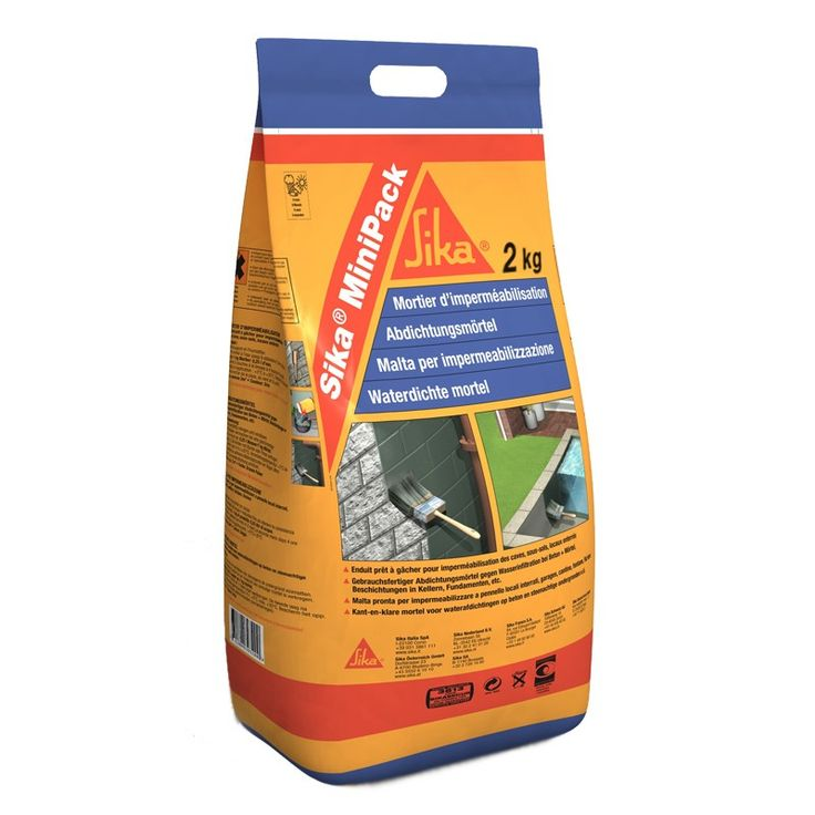 Sika minipack impermeabilizaci n sika minipack mortero - Impermeabilizantes para piscinas ...