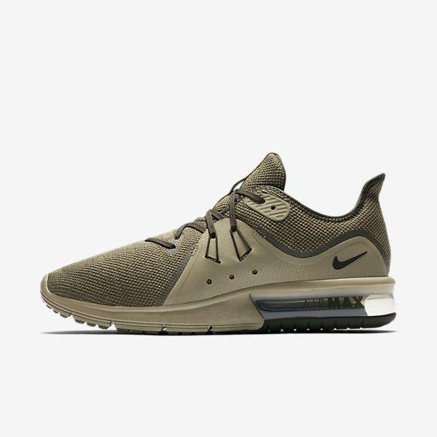 Nike Air Max Sequent 3 Herren Laufschuh – Olive #lpu