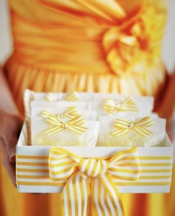 lemon drop favors or treats! wedding