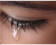Emotional tears contain more protein-based hormones - prolactin, adrenocorticotropic hormone, and leucine enkephalin - all of which are produced by our body when under stress. The body gets rid of these chemicals through tears.