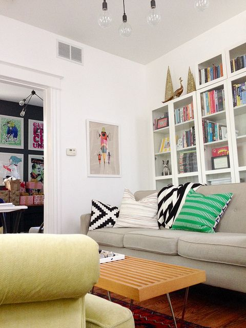 Eclectic Home Tour - Go Haus Go | Cozy living rooms, Cozy