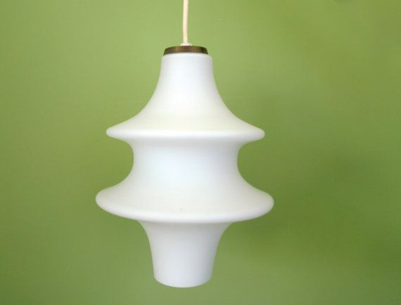 Kitchen Island Option - Vintage but only 1 - Beautiful mid-century hanging light fixture