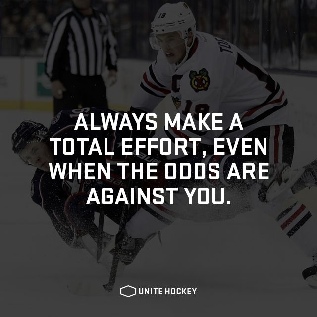Always make a total effort, even when the odds are against you. #quote…