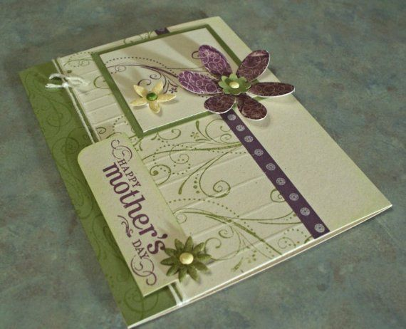 Handmade Mother's Day Card Stampin Up Priceless by WhimsyArtCards