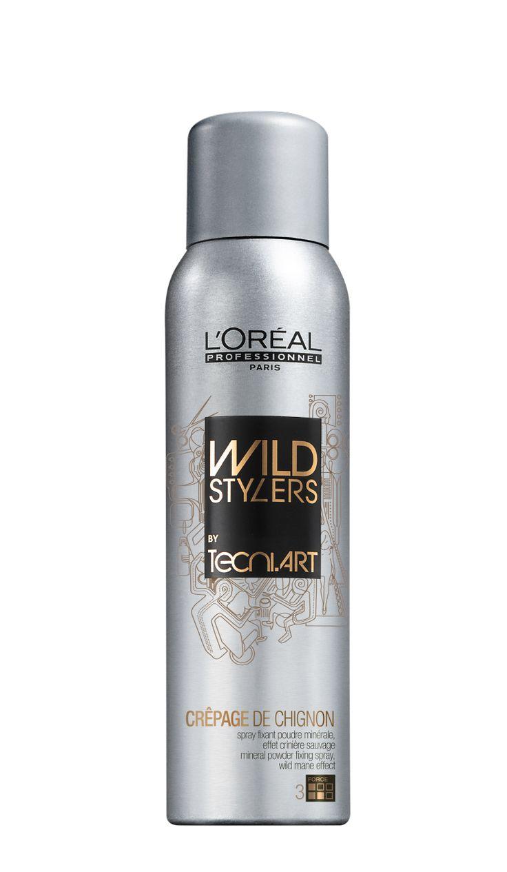 Spray Tecni.ART CREPAGE DE CHIGNON Unleash your inner Wild Side with this texturizing spray