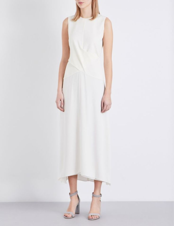 THEORY - Parthenia ponte-jersey dress | Selfridges.com