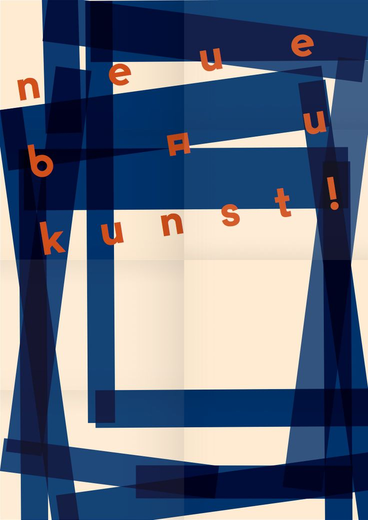 Postervariation for bauhaus-archiv Berlin, 2014, L2M3