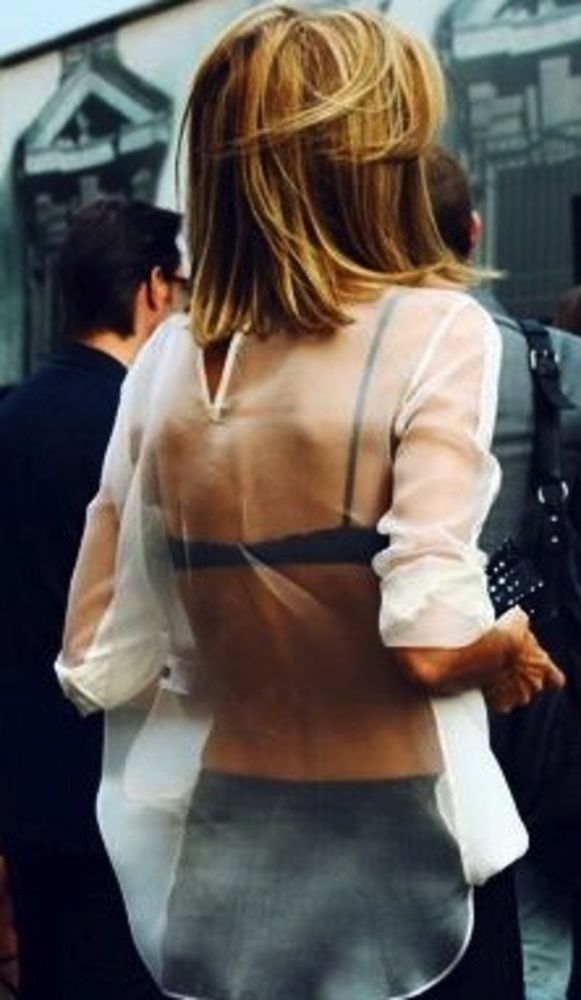 92 best images about outerdress sheer on pinterest a for Shirts with see through backs