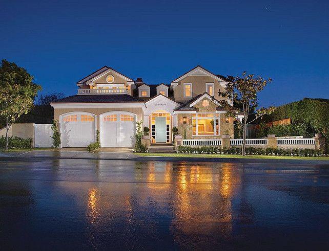 Home Exteriors. Home Exteriors Ideas. Beautiful Home Exterior With Crisp  Architecture. #HomeExteriors