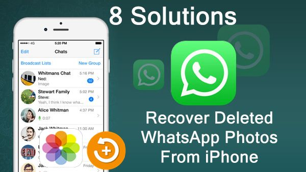 How To #Recover Deleted or Lost #Photos From #WhatsApp on