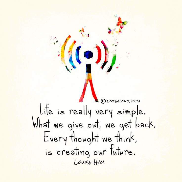 One of my favorite Louise Hay Quotes .... so I designed a poster for her inspiring words. @notsalmon