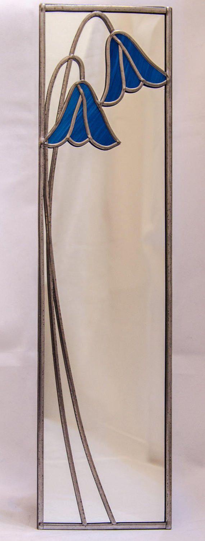 Bluebells Mackintosh stijl gebrandschilderd glas effect