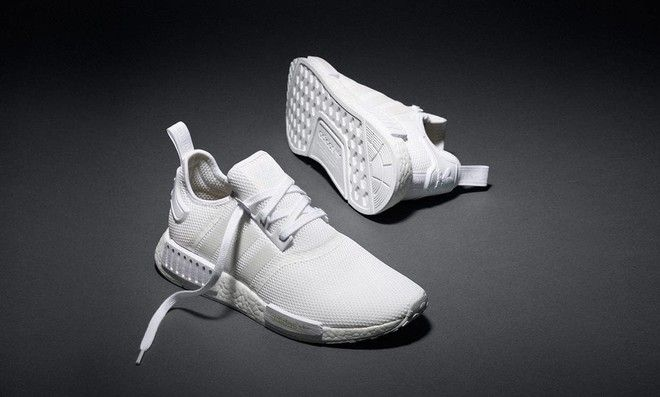 Adidas NMD In Triple White. Heaven, In Actuality.