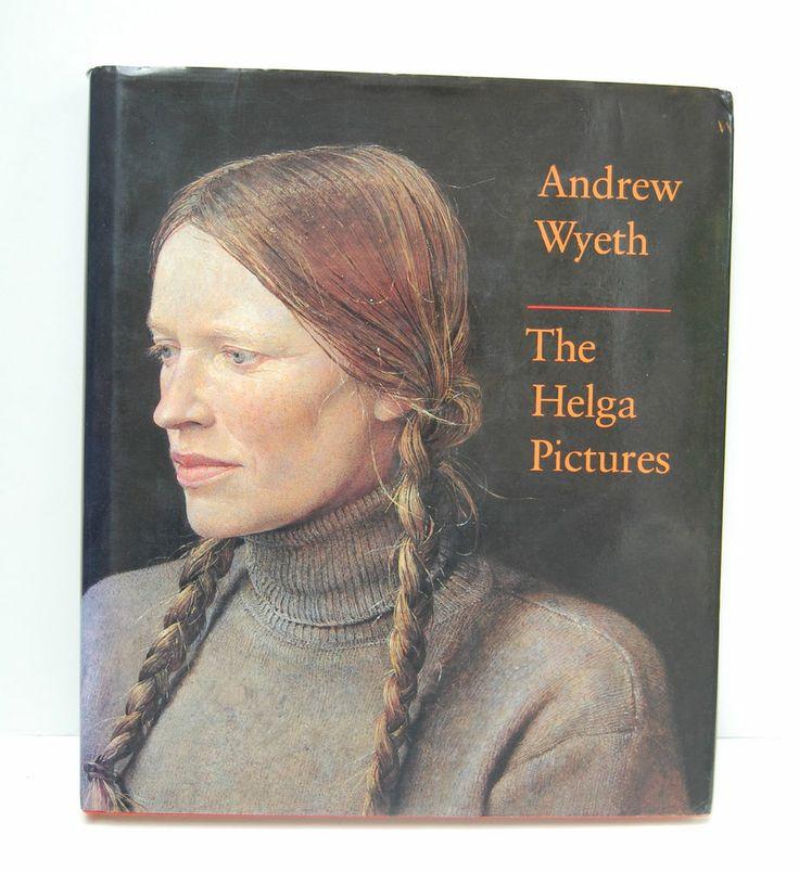 Andrew Wyeth The Helga Pictures 1987 HC DJ Art Prints