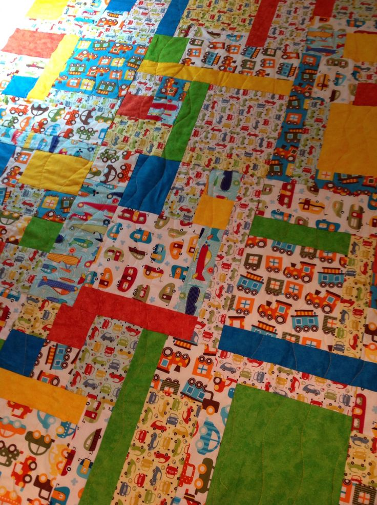 Turning 20 Again pattern. Quilt made with 12 fat quarters. Quilting-Turning 20 Quilt ...