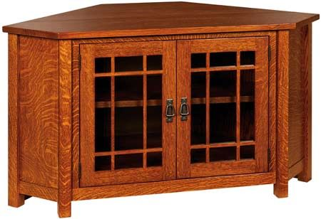 The Landmark TV Corner Cabinet is the ideal piece for your living room and…