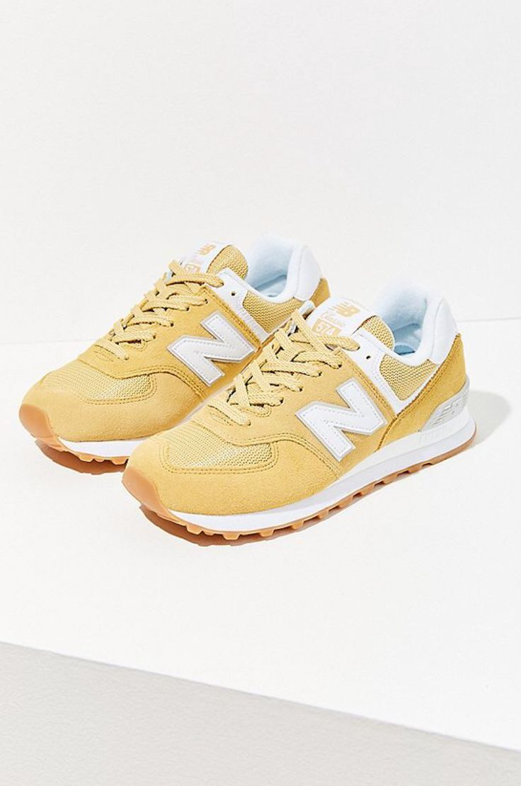 New Balance 574 Classic Sneaker !! Gelb!! | Classic sneakers ...