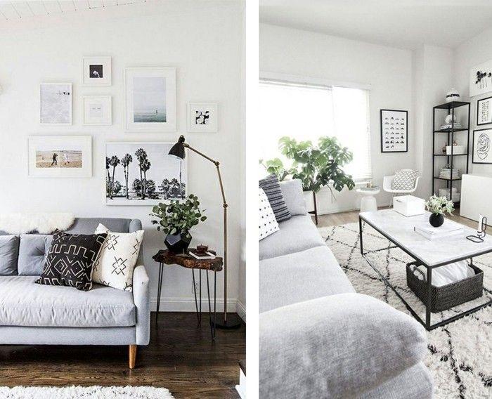 927 besten wohnzimmer ideen bilder auf pinterest armlehnen blaues sofa und bodenkissen - Minimalistisch einrichten ...