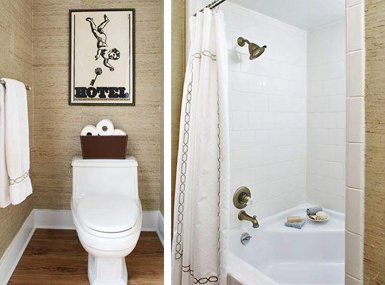 Eu moraria aqui: 19 banheiros pequenos - dos mais simples aos rebuscados!